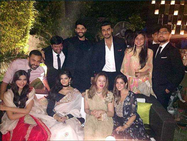 Anand Ahuja in Sonam Kapoor's family function