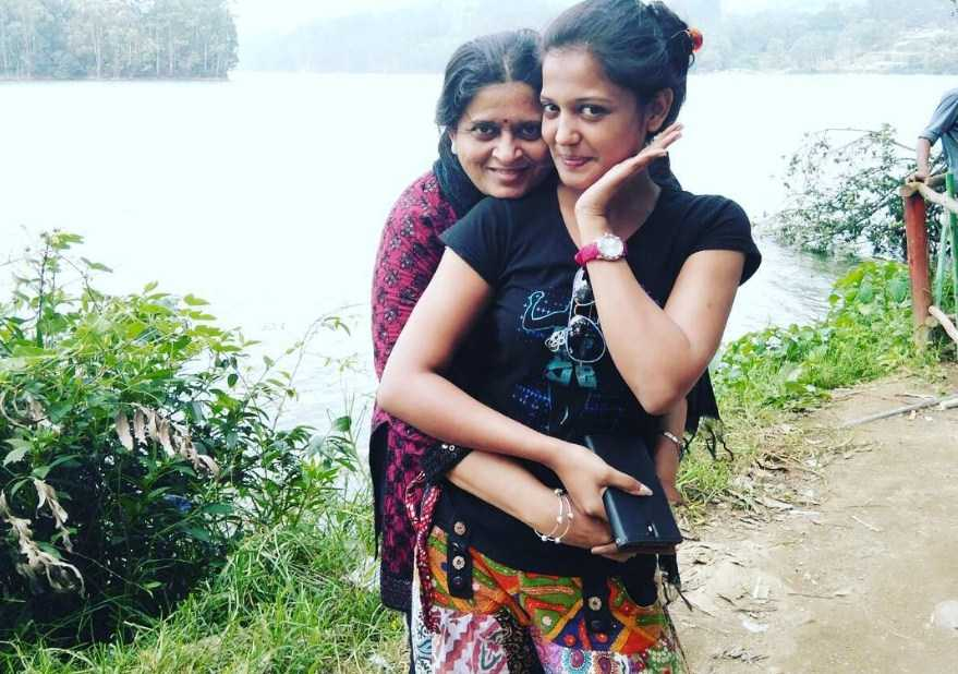 This image has an empty alt attribute; its file name is Gulki-Joshi-With-Her-Mother.jpg